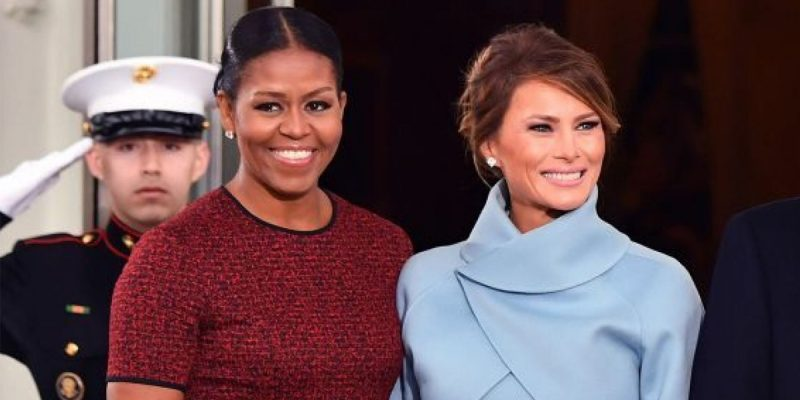 CROUERE: Michelle Is Admired, Melania Is Ignored