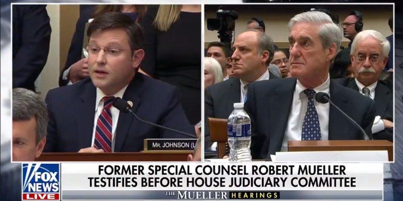 VIDEO: Mike Johnson Eviscerates Robert Mueller