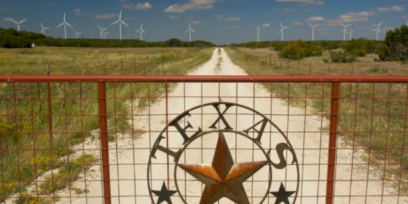 Texas' sixth largest wind production in world costs taxpayers and consumers billions