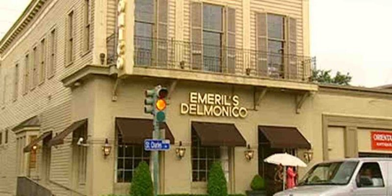 Congratulations To Emeril's Delmonico For Taking Out The Trash Tuesday Night