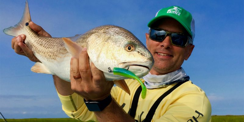 MARSH MAN MASSON: Poling Louisiana's Redfish Flats With C.A. Richardson