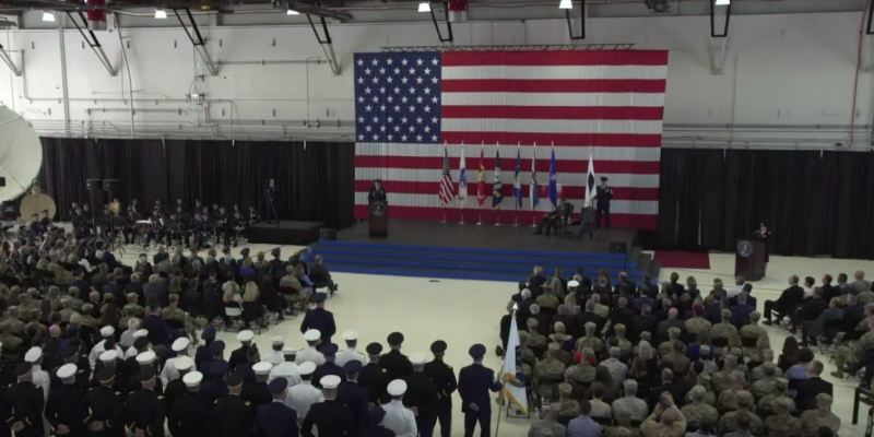 U.S. military kicks off Space Command relaunch in Colorado ceremony [video]