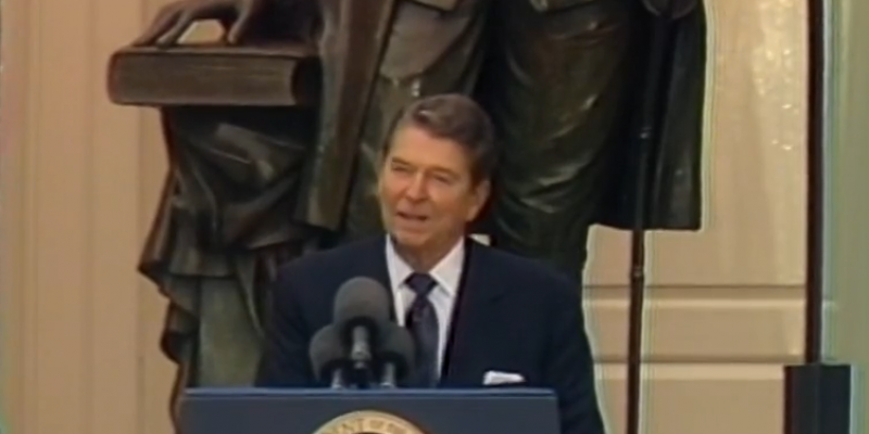 Happy Constitution Day: The Gipper Reminds Us Why It Still Matters
