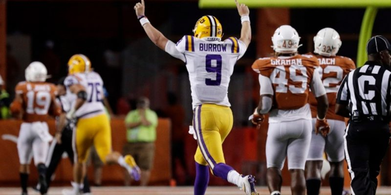 Five Thoughts Following LSU's Huge Win At Texas Last Night