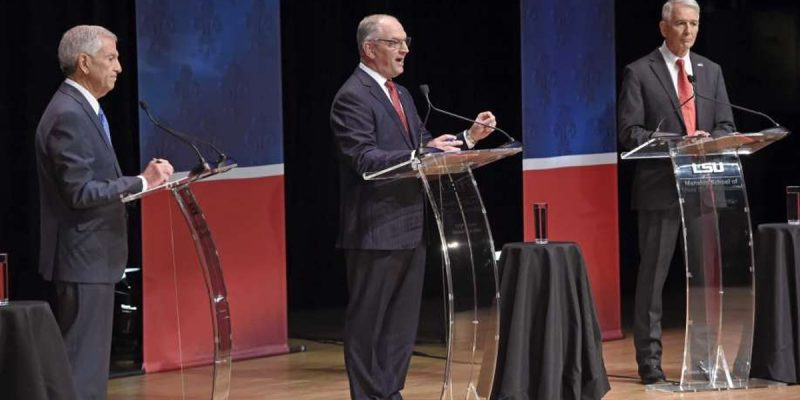 SADOW: Edwards Flubs, Lies, And Wins First Gubernatorial Debate