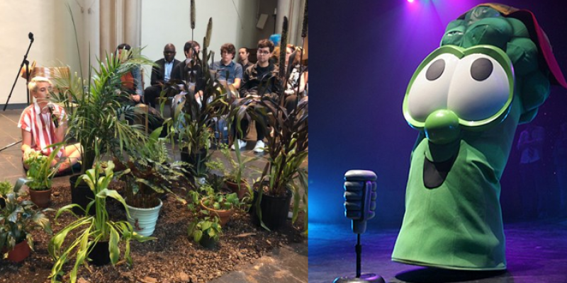 Way Beyond VeggieTales: Seminarians Confess Sins To House Plants