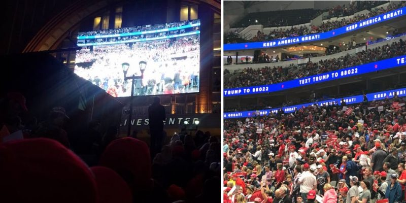 Dallas Trump Rally: The Good And The Bad