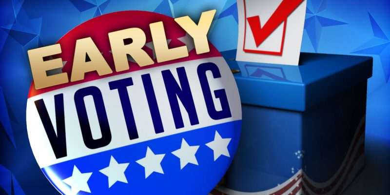 Early voting extended in Texas for Nov. 3 election