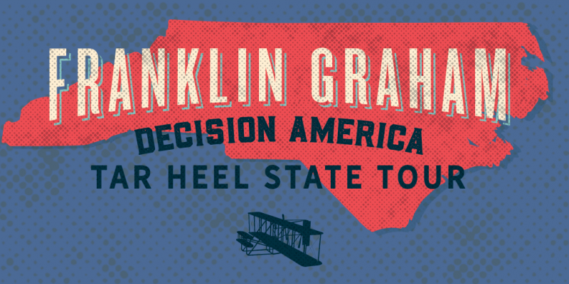 "Franklin Graham launches ""Decision America"" tour in NC [video]"