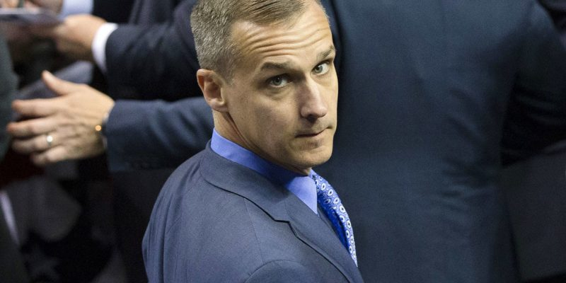 We've Got Corey Lewandowski Coming For The Hayride's Oct. 9 Event In Lake Charles!