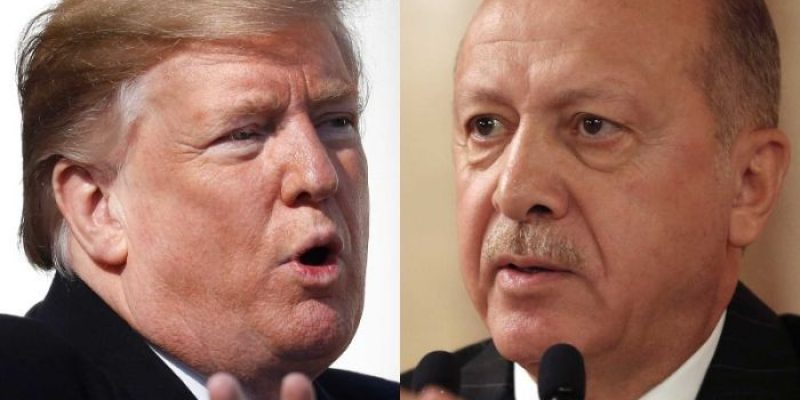 Trump Calls For Syria Cease Fire, Announces Sanctions Against Turkey