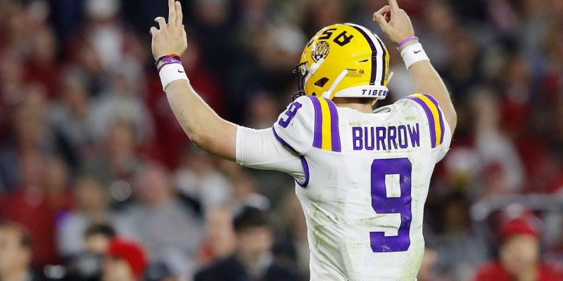 ENJOY THE WIN: No. 1 LSU Survives Shootout in Oxford, 58-37