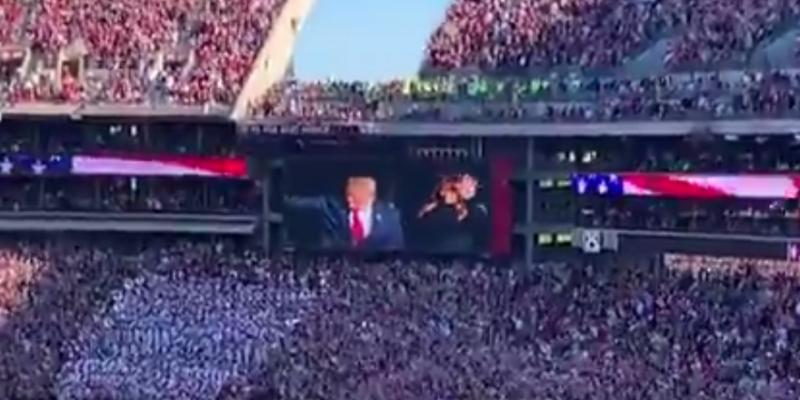 Alabama fans set record straight on Trump [videos]
