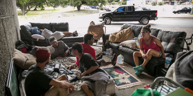 Texas homeless population numbered 25,848 last year, study finds