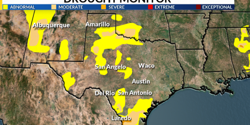 Gov. Abbott issues emergency proclamation for 53 counties suffering from drought