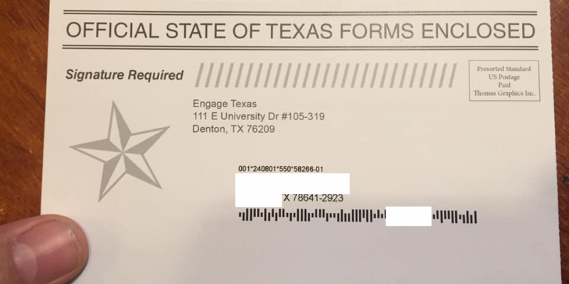 Recruit Or Die: Texas Conservatives Now Hitting Mailboxes In Massive Voter Registration Effort