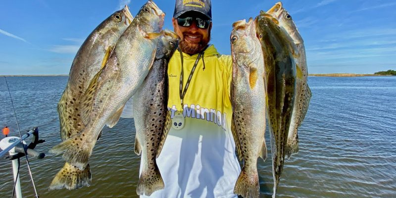 MARSH MAN MASSON: This Area Chock-Full Of Speckled Trout!