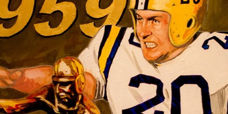 SPOOKY: Billy Cannon Run is Just One Part of a Chilling Sports Story