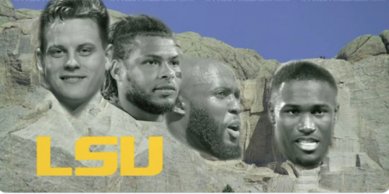 THE GREATS: An Interesting Take on the All-Decade LSU Mount Rushmore