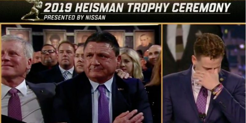 JOE REAL: Humanity of Joe Burrow Comes Forth in Heisman Speech for the Ages