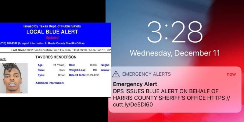 Texas Issues Rarely Used Blue Alert In Massive Dragnet For Suspected Cop-Killer