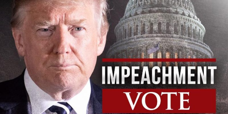 US House Narrowly Passes Trump Impeachment, GOP Stands United In Opposition