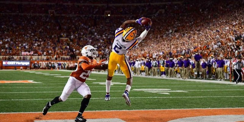 JUSTIN'S CASE: LSU Receiver Justin Jefferson Deserves All-American Recognition