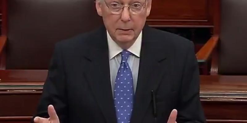 "McConnell: Pelosi's ""slapdash"" impeachment sham ""failed the country"""