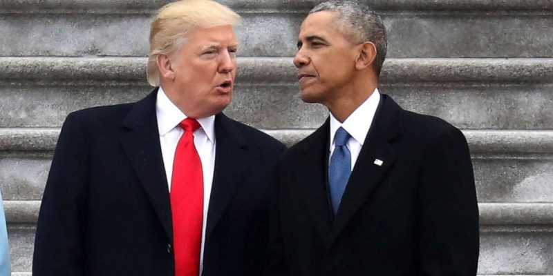 Presidents Trump, Obama Tied For America's Most Admired Man