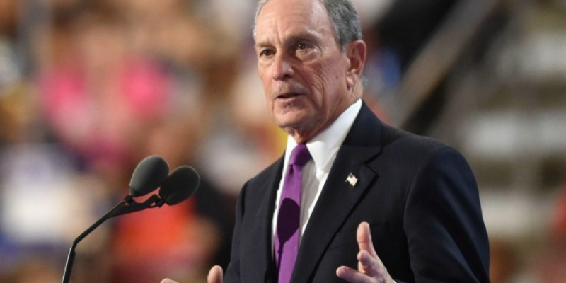 Really? Bloomberg jumps into fourth in new national poll