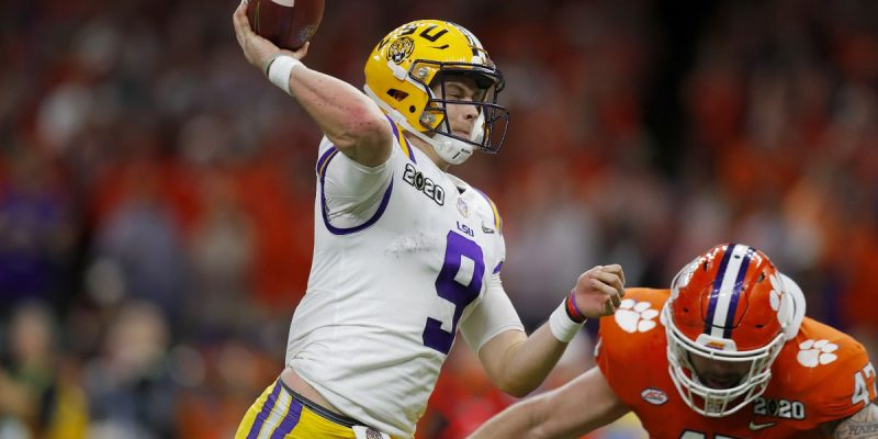 BIG HEART JOE: Burrow Was Injured the Entire Second Half of Title Game
