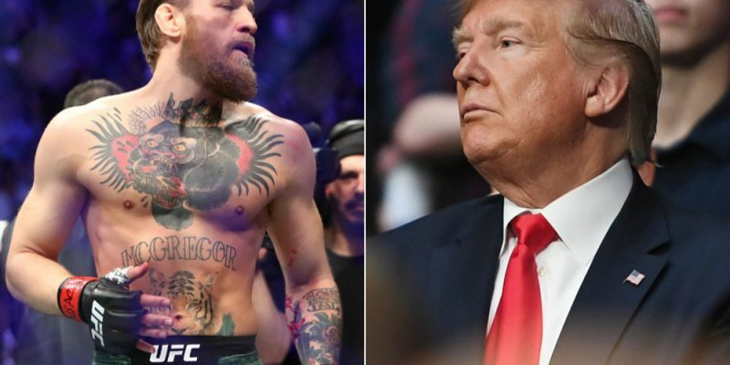 "Conor McGregor On Donald Trump: ""Phenomenal President"""