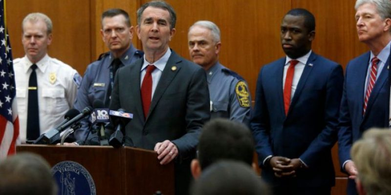 Virginia Governor Declares State of Emergency Over Pro-Gun Rally