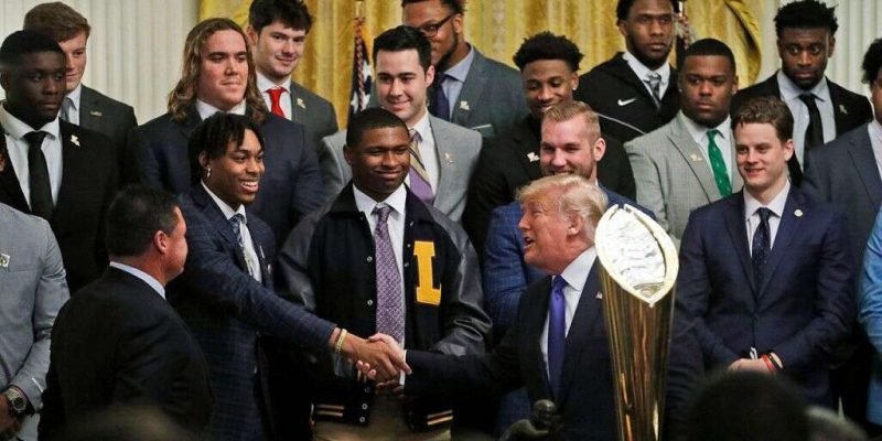 WHITE HOUSE VISIT: Kudos to LSU for Respecting the Presidency