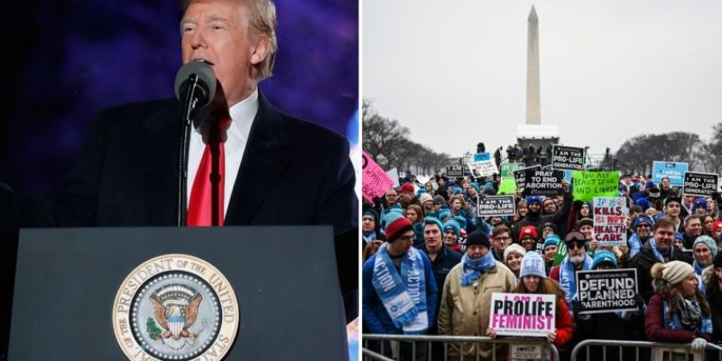 President Trump Becomes First President To Speak At March for Life (VIDEO)