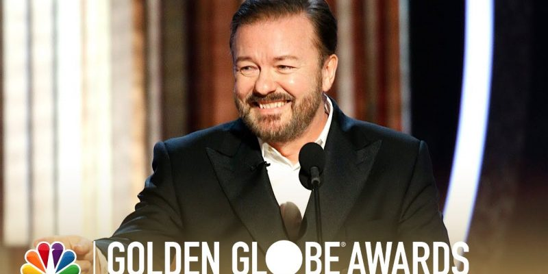 VIDEO: What Ricky Gervais Did To The Golden Globe Awards Last Night Was Amazing