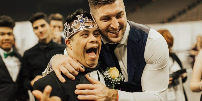 BORN WINNER: Tebow's Foundation Hosts Special Night for Special People