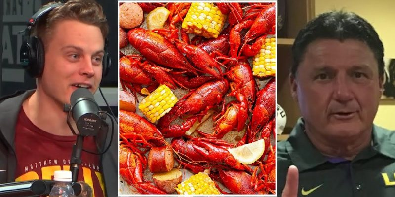 'CRUITIN WITH CRAWFISH: Can Orgeron Reel in Another Burrow?