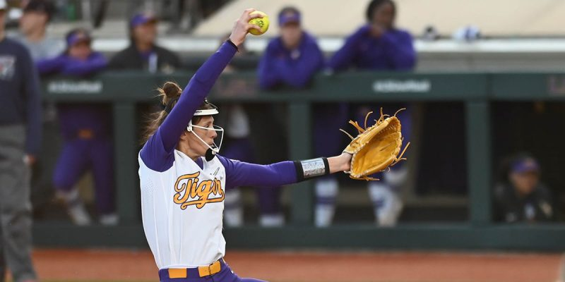 PERFECT GAME: LSU's Maribeth Gorsuch was Superhuman on Saturday