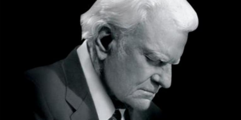 Two years ago this month: Billy Graham's last message [video]
