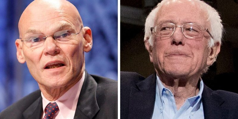 """At least I'm not a communist!"": Sanders, Carville Trade Insults"