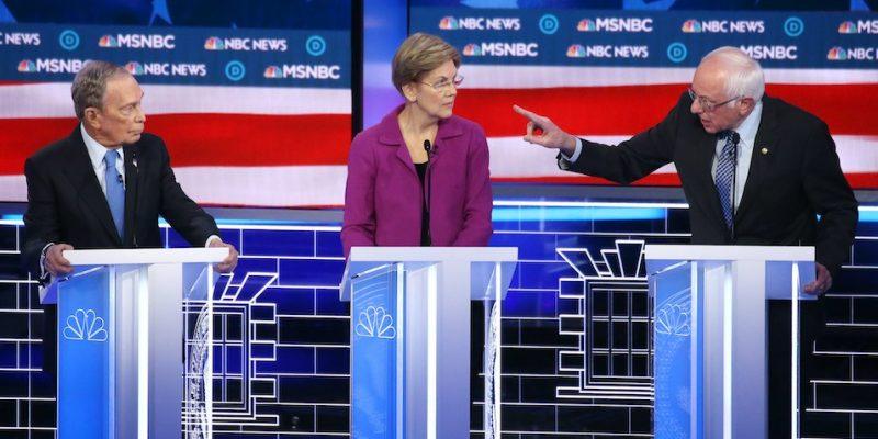 Bernie v Bloomberg: Highlights From Last Night's Democrat Debate