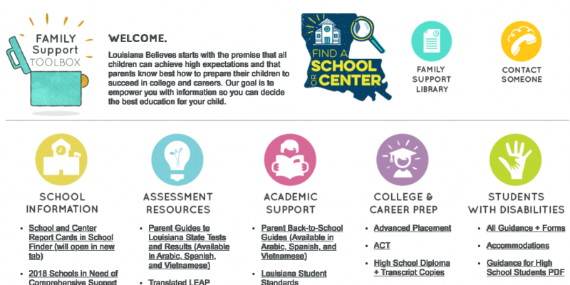 Louisiana Department of Education Releases 2020 Census toolkit for teachers, families