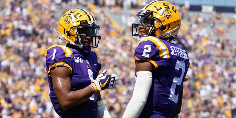 WIDE OPEN: The Effects of the Exit of Joe Brady on LSU's Offense