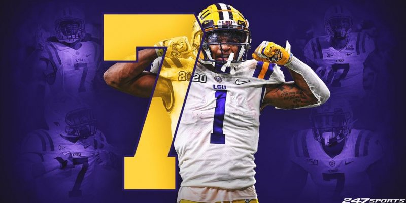 7-UP: LSU's Chase Will Look to Stay No. 1 While Wearing New Number