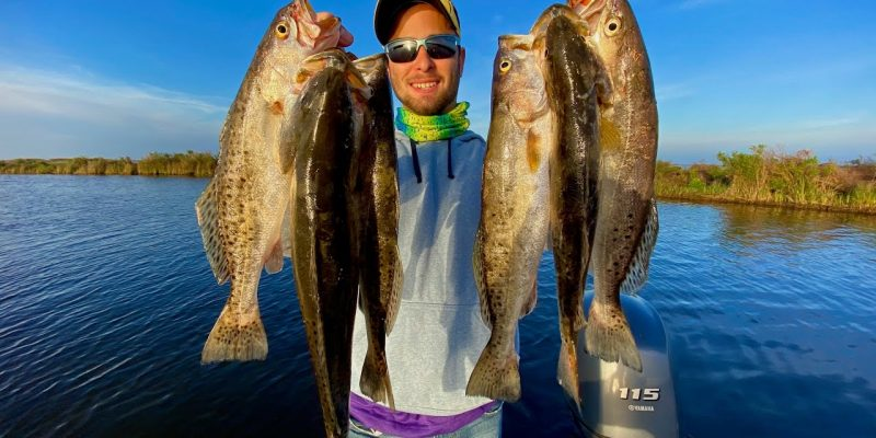 MARSH MAN MASSON: Every-Cast Speckled Trout Action — And It's Just Beginning!