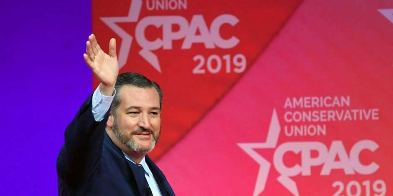 Sen. Ted Cruz Self-Quarantines After Contact with Coronavirus Patient at CPAC