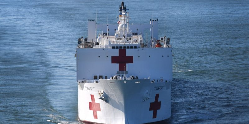 U.S. Military to Deploy Hospital Ships, Field Hospitals Ahead of Covid-19 Peak