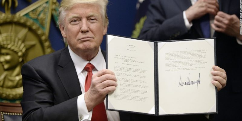 President Trump to Sign Executive Order Halting Immigration Into the U.S.