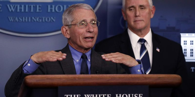 YOU DON'T SAY: Fauci Tells CNBC What Many Americans Have Been Shouting from the Rooftops